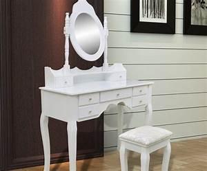Coiffeuse Meuble Moderne : ma coiffeuse meuble notre comparatif de meuble coiffeuse de 2018 ~ Teatrodelosmanantiales.com Idées de Décoration