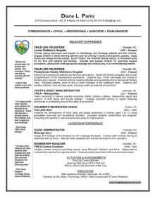 Where To Put My Internship On My Resume by Child Intern Resume