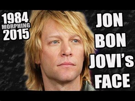 Jon Bon Jovi His Face Youtube Jbj