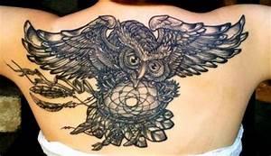 Tattoo Traumfänger Bedeutung : mightyweeny eule mit traumf nger tattoos von tattoo ~ Frokenaadalensverden.com Haus und Dekorationen