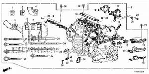 Honda Online Store   2012 Civic Engine Wire Harness  1 8l
