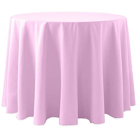 light pink table cloth buy spun polyester 108 inch tablecloth in light pink