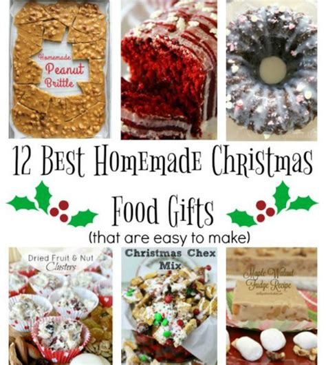 best homemade christmas food gifts 12 days of christmas