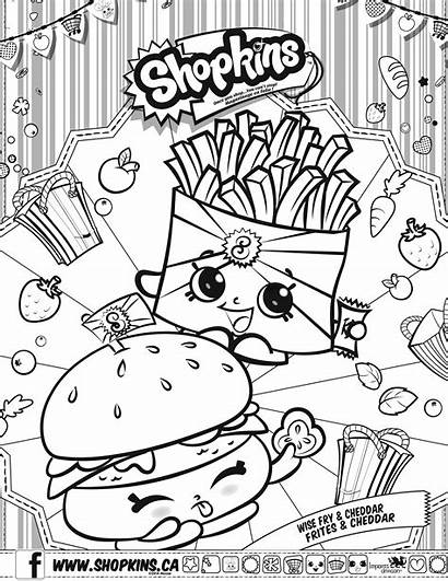 Shopkins Coloring Pages Printable Getcolorings