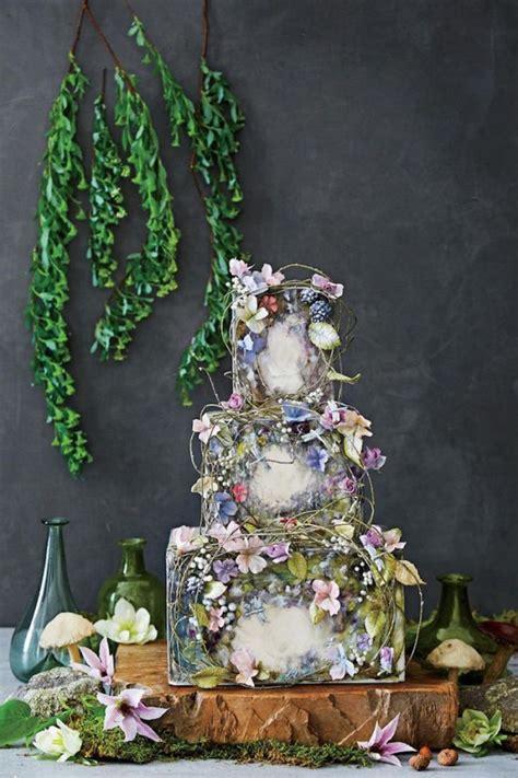 nature inspired wedding cakes weddingelation