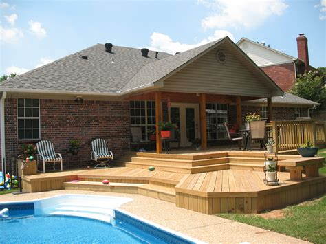 backyard deck plans st louis mo back to basics with wood decks by archadeck