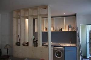 Meuble Separation Cuisine Salon Collection Et Ateliers