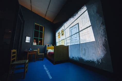 Van Gogh's Bedrooms At The Art Institute Of Chicago