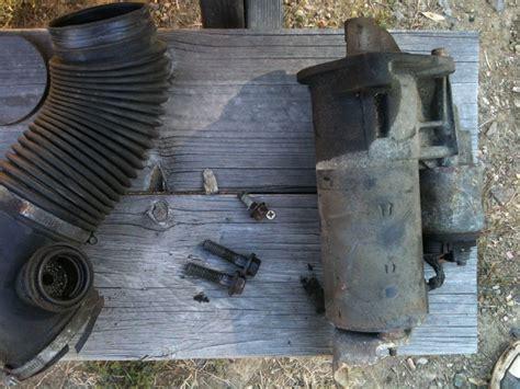 turbo starter replacement tutorial matthews