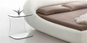 Table De Chevet Transparente : lit sleepy table de chevet transparente ~ Melissatoandfro.com Idées de Décoration