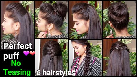 min perfect puff  quick easy hairstyles  medium