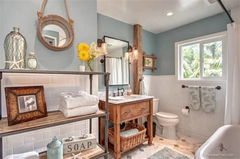 Beachy Bathroom Ideas by Wonderful Themed Bathroom Decor Ideas Decohoms