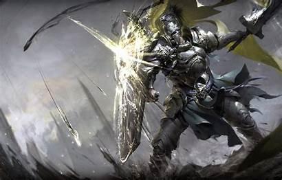 Knight Fantasy Sword Warrior Shield Armor Soldier