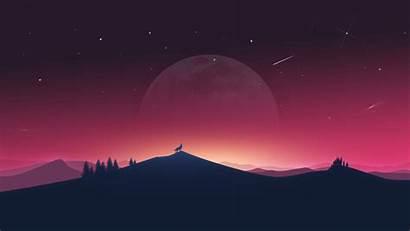 Computer 4k Aesthetic Desktop Wallpapers Night Backgrounds
