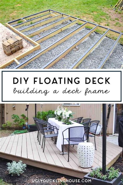 full series   build  diy floating deck aka
