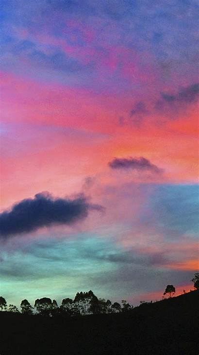 Sky Rainbow Sunset Cloud Nature Iphone Plus