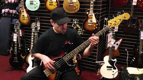 fender modern players jazz bass demo at tjs