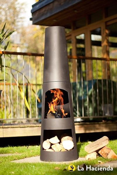 chiminea modern buy contemporary steel chimenea circo delivery by crocus