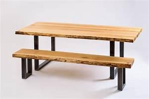 Banc Bois Massif : quelles chaises choisir pour accompagner une table en bois massif les ateliers bois de fer ~ Teatrodelosmanantiales.com Idées de Décoration