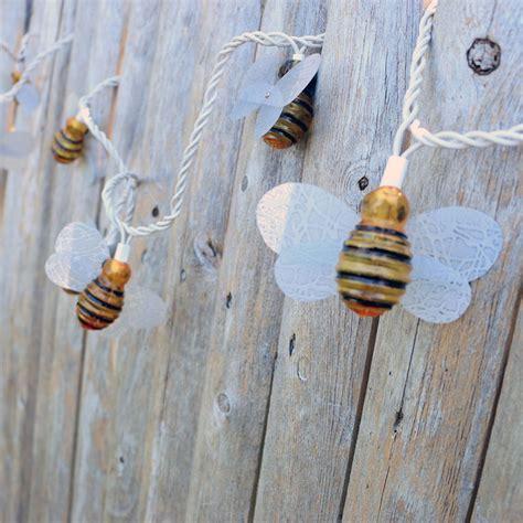 honey bee string lights 10 lights