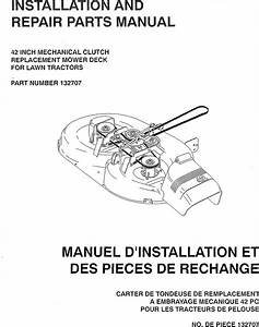 Craftsman Mower Deck Manual L0909630