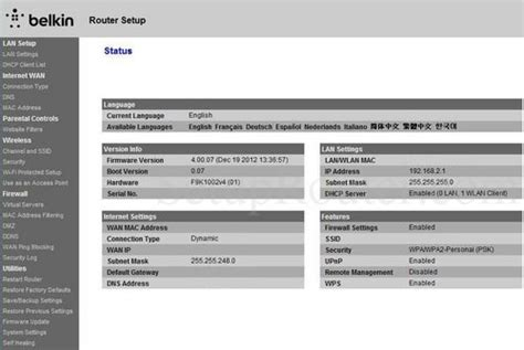 belkin range extender ip address 28 images belkin n300