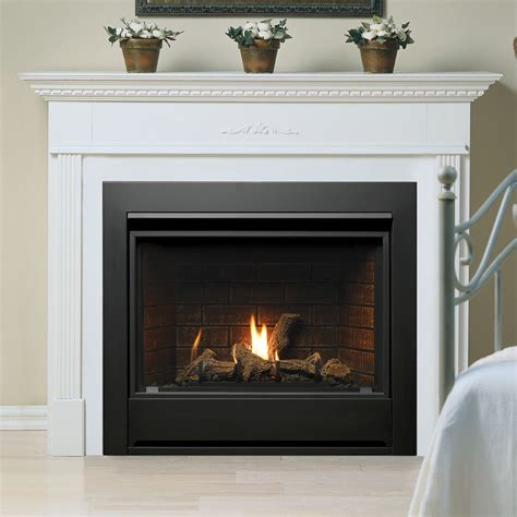 Kingsman Fireplaces - kingsman zero clearance direct vent ipi gas fireplace 33