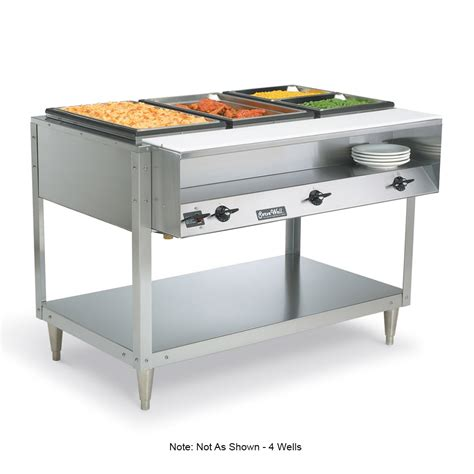 thermostat cuisine vollrath 38104 4 well food table 4 thermostat