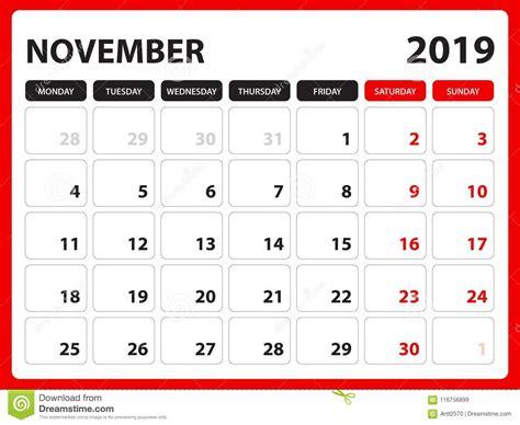 desk calendar november template printable calendar planner