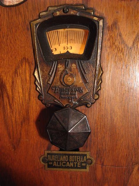 "Emerson M-755 (1931) ""Antique radio"", ""Tube radio ..."