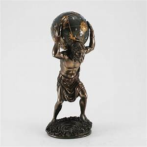 Engel Figuren Skulpturen Deko : deko skulptur atlas bronziert masterpiece collection ~ Michelbontemps.com Haus und Dekorationen