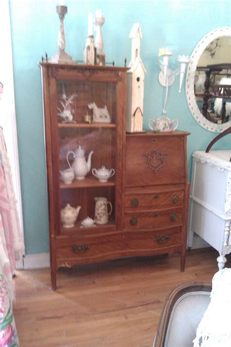 not shabby vintage furniture 27 best images about antique secretary desk on pinterest curved glass vintage office and cabinets