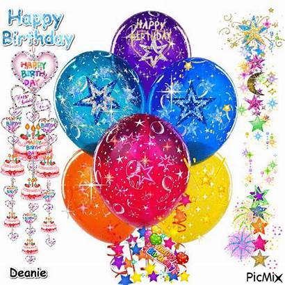 Balloons Birthday Happy Picmix Gifs Special Creations