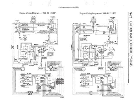 Wiring Diagram 1987 Sea by Rewiring Kill Switch On 1988 Bayliner With 125 Hp