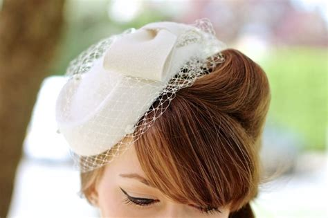 Wedding Hairstyles With Veil : Best 20+ Pillbox Hat Ideas On Pinterest