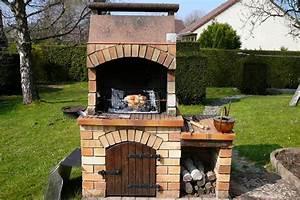 bbq fait maison fashion designs With barbecue en pierre fait maison