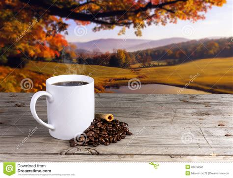 Ee  Coffee Ee   Cup Autumn Stock Photo Image Of Image Beautiful