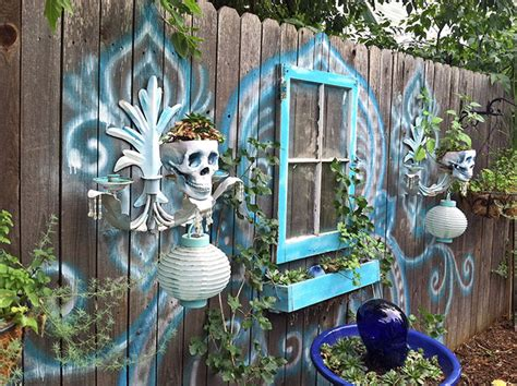 bohemian fence decor bored panda