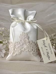 vintage wedding favor bag lace wedding favor bags With favor bags for wedding