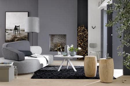Einrichten Mit Farbe Wohnzimmer In Kieselsteingrau