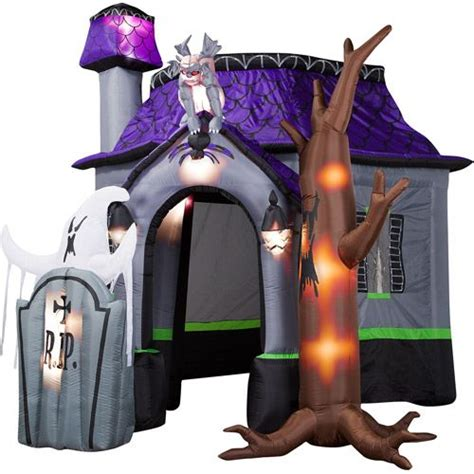 outdoor decorations walmart haunted houses ghosts and on