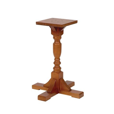 Pedestal Table Base by Harley Single Pedestal Table Base Forest Contract
