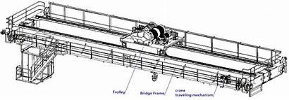 Crane Overhead Girder Double Components Main Structure
