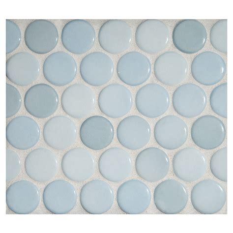 blue kitchen backsplash mosaic light agua gloss complete tile