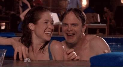 Erin Hannon Pool Party Office Gifs Dwight