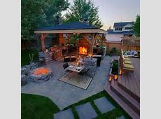 House Outside ,Back Yard Ideas on Pinterest Pergolas