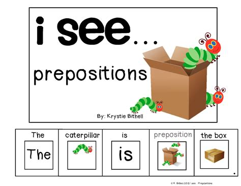 preschool prepositions prepositions adapted book for special needs autism speech 900