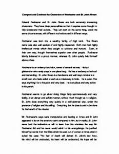 characterization essay example