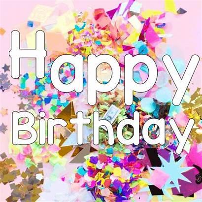 Birthday Happy Festive Wishes Cards Greetings Pretty