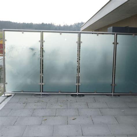 Windschutz Für Balkon by Windschutz Balkon Panther Glas Ag